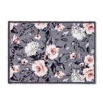 FUßMATTE 50/70 cm  - Rosa/Weiß, Trend, Textil (50/70cm) - Esposa