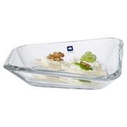 SCHALE - Transparent, Design, Glas (20,40/19/4,70cm) - LEONARDO