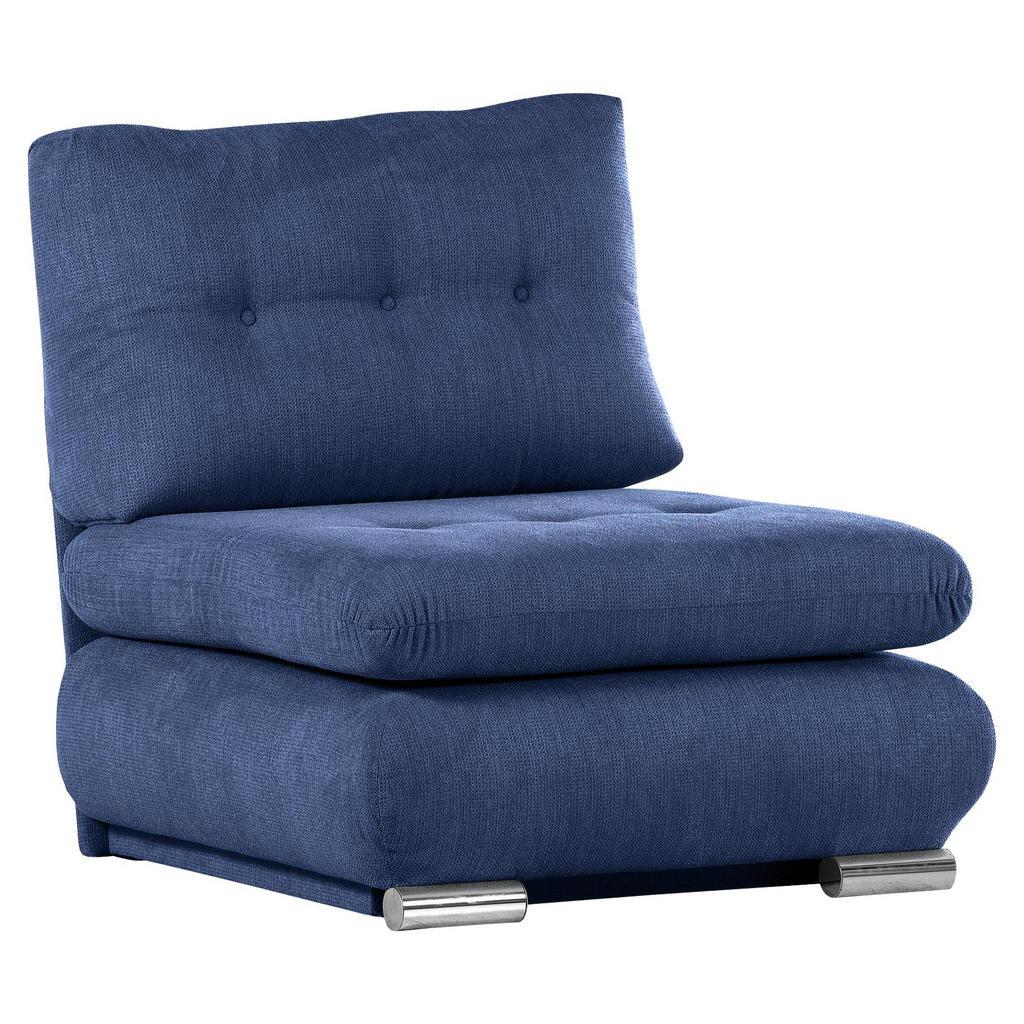 Xora SCHLAFSESSEL Flachgewebe Blau