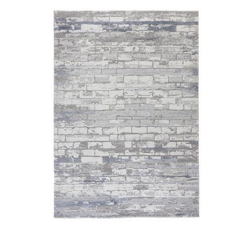 WEBTEPPICH - Blau, Design, Textil (200/290cm) - Esposa