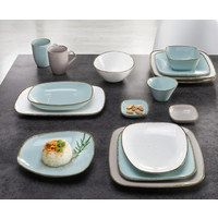 Servierplatte   - Hellblau, Trend, Keramik (20/33cm) - Ritzenhoff Breker