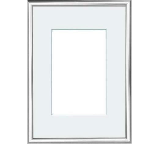 BILDERRAHMEN in Silberfarben - Silberfarben, Basics, Glas/Kunststoff (22/31cm)