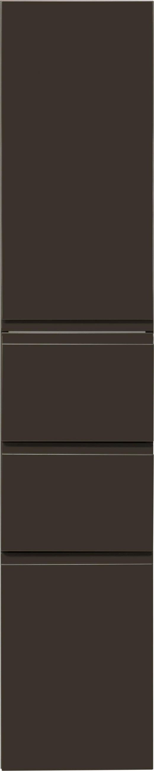 HOCHSCHRANK 35/175/37 cm - Anthrazit, Design, Holzwerkstoff (35/175/37cm) - Novel