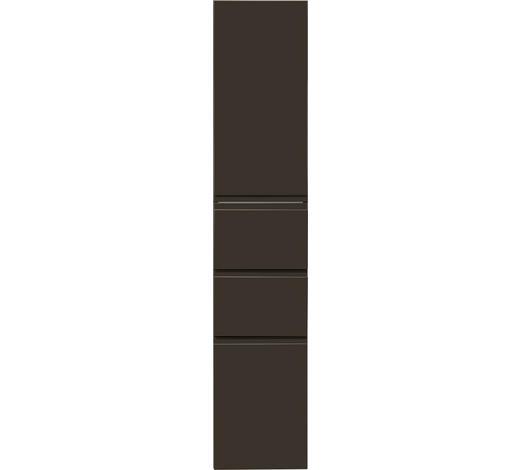 HOCHSCHRANK Anthrazit  - Anthrazit, Design, Holzwerkstoff (35/175/37cm) - Novel