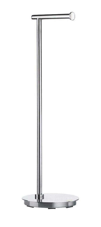 TOILETTENPAPIERHALTER - Edelstahlfarben, Basics, Metall (17,5/60cm)