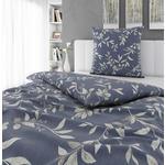 BETTWÄSCHE Flanell Blau  - Blau, KONVENTIONELL, Textil (135/200cm) - Esposa