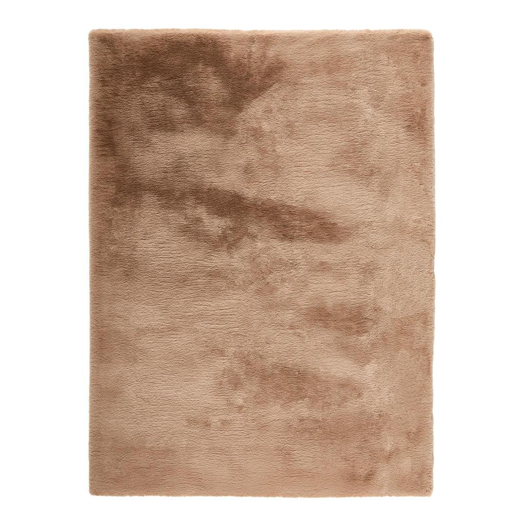 Novel HOCHFLORTEPPICH 70/130 cm Taupe