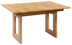 ESSTISCH in Holz 130/90/76 cm - Buchefarben, Natur, Holz (130/90/76cm) - Voleo
