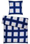 BETTWÄSCHE Satin Blau 135/200 cm - Blau, Design, Textil (135/200cm) - Esposa