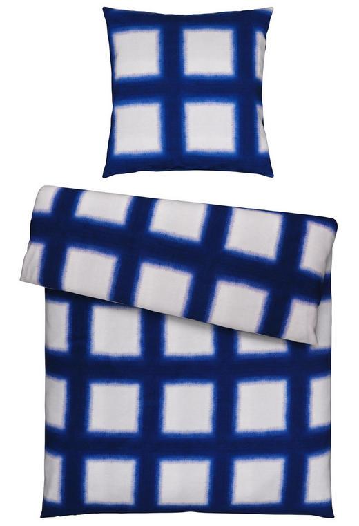 BETTWÄSCHE Satin Blau 155/220 cm - Blau, Design, Textil (155/220cm) - Esposa