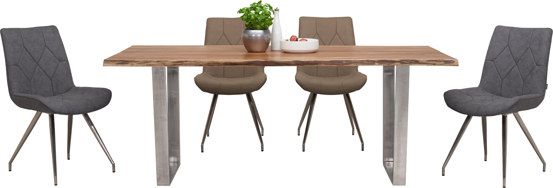 Geräumig Esstisch Stühle Mit Armlehne Dekoration Von