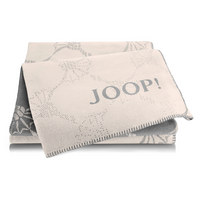 Wohndecke 150/200 cm  - Beige/Hellgrau, Design, Textil (150/200cm) - Joop!
