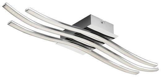 STROPNA LED SVETILKA WAVE 1 - krom, Design, kovina/umetna masa (60/15,5/6,5cm) - Novel