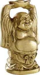 BUDDHA - barvy zlata, Lifestyle, kov (9/6/4,5cm) - AMBIA HOME