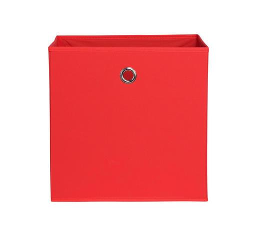 SKLOPIVA KUTIJA - crvena, Design, tekstil (32/32/32cm) - Carryhome