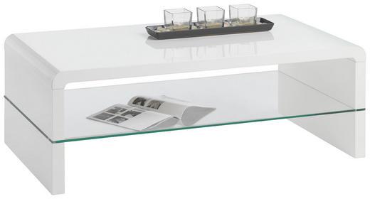 SOFFBORD - vit, Design, glas/träbaserade material (110/40/60cm) - CARRYHOME