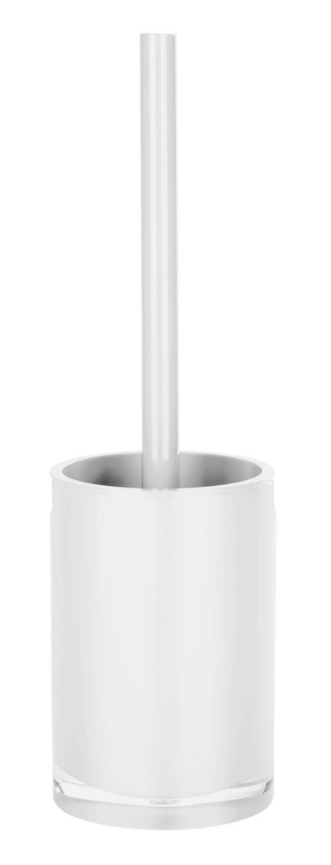 WC-BÜRSTENGARNITUR - Weiß, Basics, Kunststoff (10/36cm)