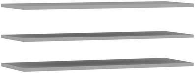 EINLEGEBODEN - Grau, Design, Holzwerkstoff (107,8/42/2,2cm) - Carryhome