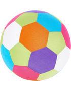Stoffball - Multicolor, Basics, Kunststoff/Textil (23cm) - My Baby Lou