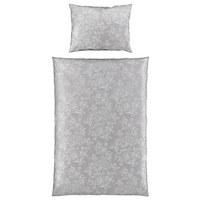 BETTWÄSCHE 140/200 cm - Hellbraun/Grau, LIFESTYLE, Textil (140/200cm) - Estella