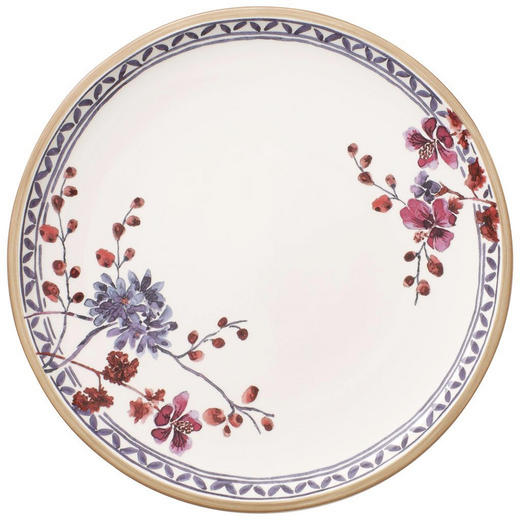 SPEISETELLER Keramik Porzellan - Multicolor/Weiß, LIFESTYLE, Keramik (27cm) - Villeroy & Boch