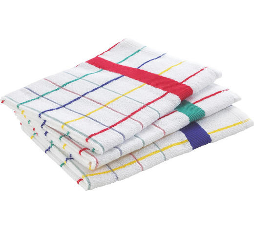 GESCHIRRTUCH-SET  3-teilig  - Multicolor, Basics, Textil (50/50cm) - Esposa