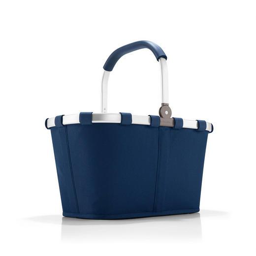 CARRYBAG DARK BLUE - Dunkelblau, Basics, Textil (48/29/28cm) - Reisenthel