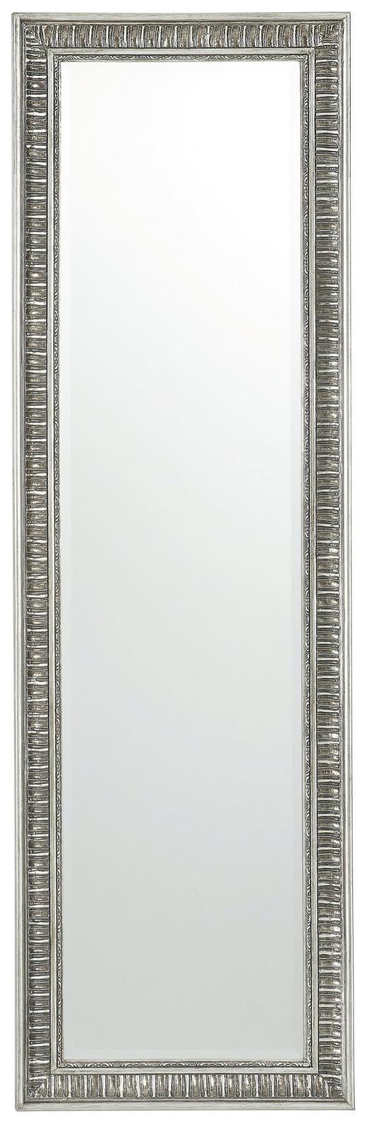 SPIEGEL Silberfarben - Silberfarben, LIFESTYLE, Glas/Holzwerkstoff (132/40,5/3cm) - Xora