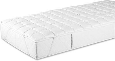 UNTERBETT 180/200 cm - Weiß, Basics, Textil (180/200cm) - SLEEPTEX