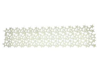 NAMIZNI POGRINJEK 17XDE1806 - krem, tekstil (28/118cm) - X-Mas