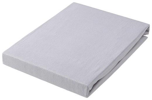 SPANNBETTTUCH Jersey Graphitfarben bügelfrei, für Wasserbetten geeignet - Graphitfarben, Basics, Textil (100/200cm) - Esposa