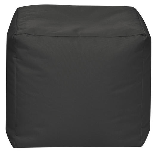 SITZWÜRFEL Anthrazit - Anthrazit, Design, Textil (40/40/40cm) - Carryhome