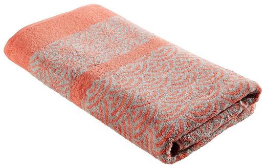 SAUNATUCH 70/180 cm - Orange, Textil (70/180cm)