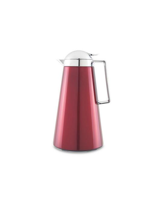 ISOLIERKANNE 1 L - Rot, Basics, Glas/Kunststoff (1l) - Homeware