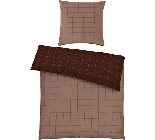 BETTWÄSCHE 140/200 cm - Taupe/Braun, Design, Textil (140/200cm) - Ambiente