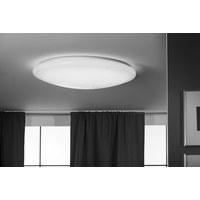 LED DECKENLEUCHTE   Weiß, Basics, Kunststoff (58/14cm)   Novel ...