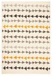 WEBTEPPICH  120/170 cm  Grau, Orange, Dunkelgrau, Beige   - Dunkelgrau/Beige, Trend, Textil (120/170cm) - Boxxx
