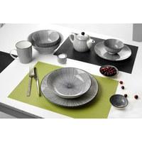 SUPPENTELLER Steinzeug - Schwarz/Weiß, Basics, Keramik (20,5cm) - Ritzenhoff Breker