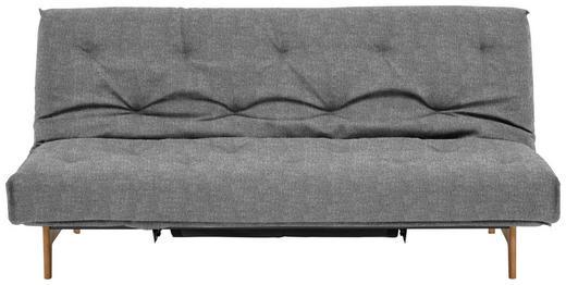 SCHLAFSOFA Grau - Eichefarben/Grau, Design, Holz/Textil (200/86/97cm) - Innovation