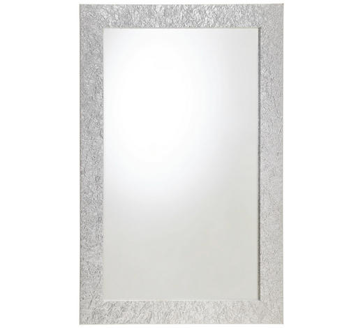 SPIEGEL - Silberfarben, KONVENTIONELL, Glas/Holzwerkstoff (70/110cm) - Carryhome