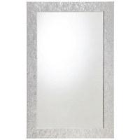 ZRCADLO - barvy stříbra, Konvenční, dřevěný materiál/sklo (70/110cm) - CARRYHOME
