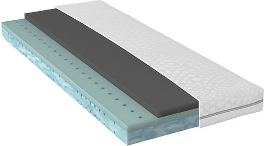 Bultexkern, GELTEX® Matratze 90/200 cm - Weiß, Basics, Textil (90/200cm) - Sembella