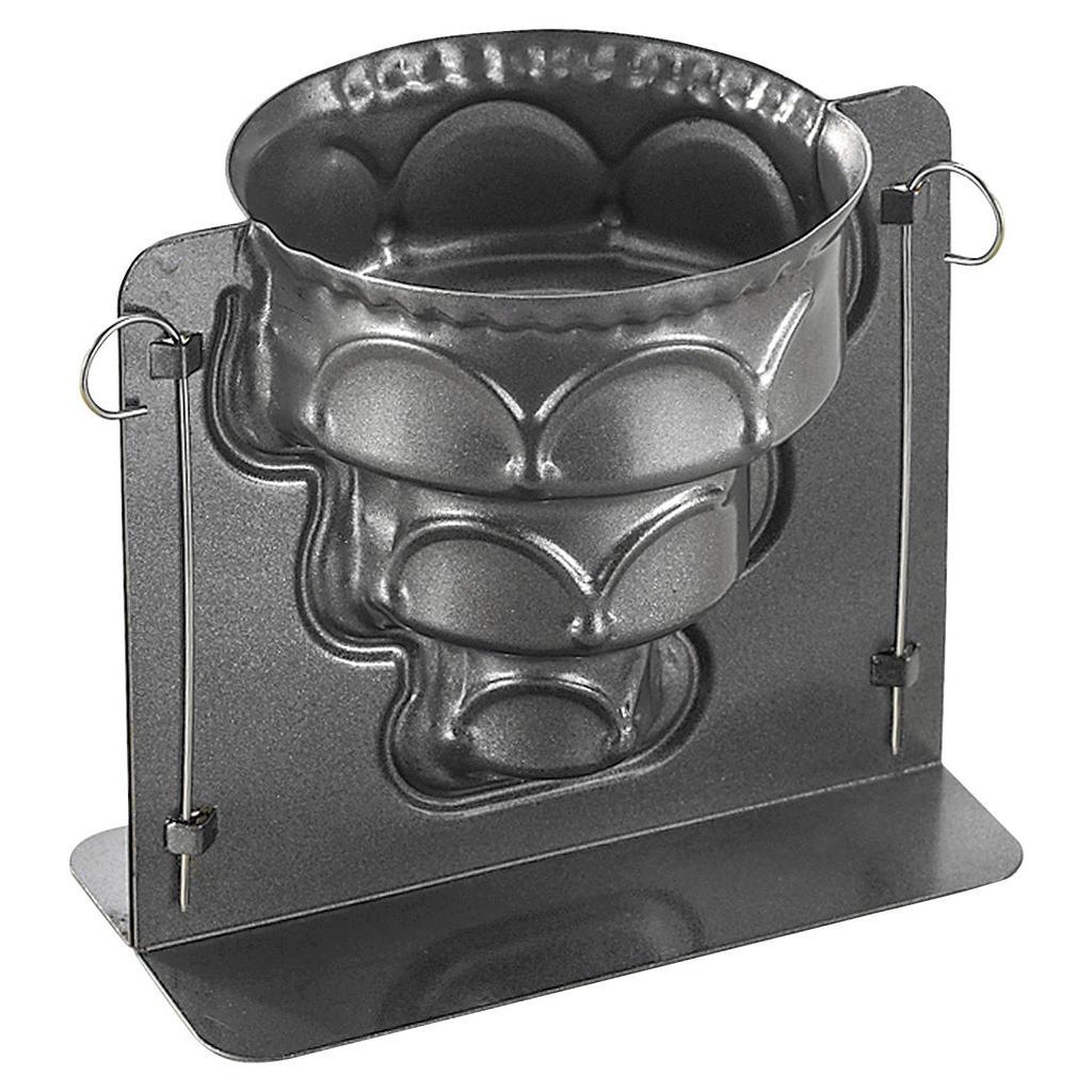 Image of Birkmann Backform , 211841 , Schwarz , Metall , 20.5x17.5x14.5 cm , antihaftbeschichtet , 004075000340