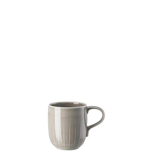 KAFFEEBECHER - Grau, Basics, Keramik (8,5/10cm)