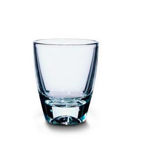 SNAPSGLAS - transparent, Basics, glas (0,03l) - Homeware