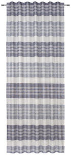 FERTIGVORHANG  blickdicht  140/245 cm - Blau, KONVENTIONELL, Textil (140/245cm) - Esposa