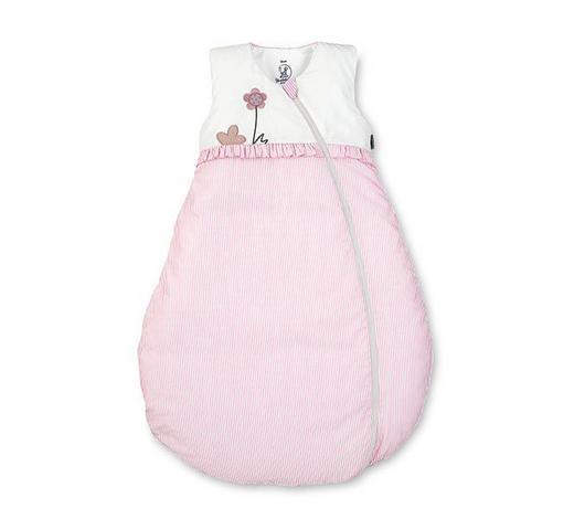 BABYSCHLAFSACK Emmi Girl  - Rosa/Weiß, Basics, Textil (90cm) - Sterntaler