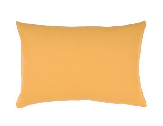 KOPFKISSENBEZUG Currygelb 40/80 cm - Currygelb, Basics, Textil (40/80cm) - SCHLAFGUT