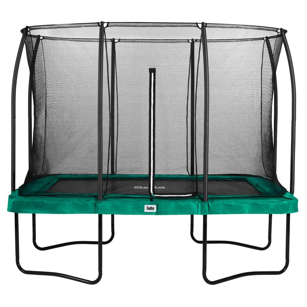 XXXL Trampolin Salta Comfort 214/305 cm Grün | Kinderzimmer > Spielzeuge | Grün | Metall