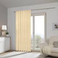 FERTIGVORHANG black-out (lichtundurchlässig) - Naturfarben, Basics, Textil (140/300cm) - Esposa